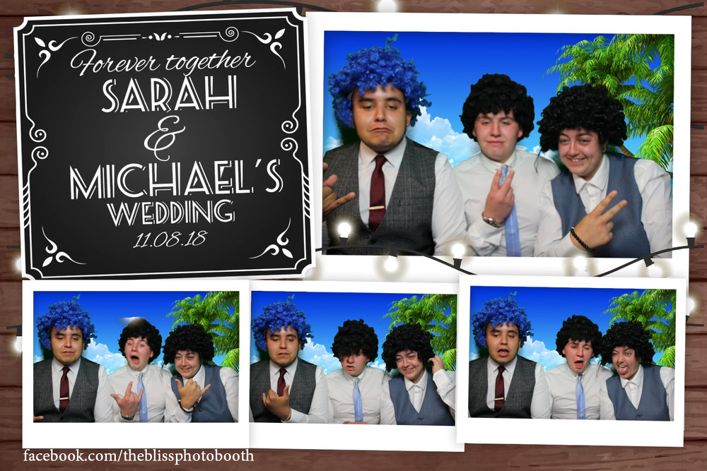 Sarah and Michael - Norfolk Arms Sheffield - Photo booth