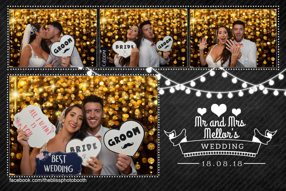 Mr and Mrs Mellor - The Earl Of Doncaster Hotel - Photo Booth