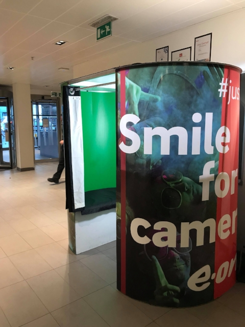 business photo booth hire