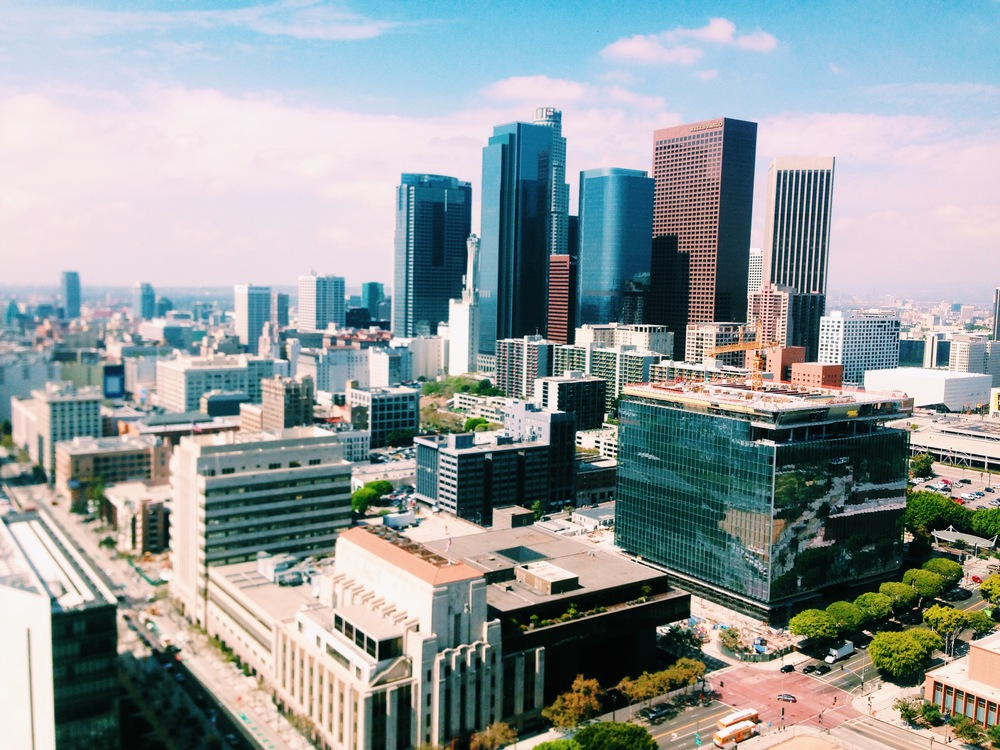 LA from City Hall observation deck