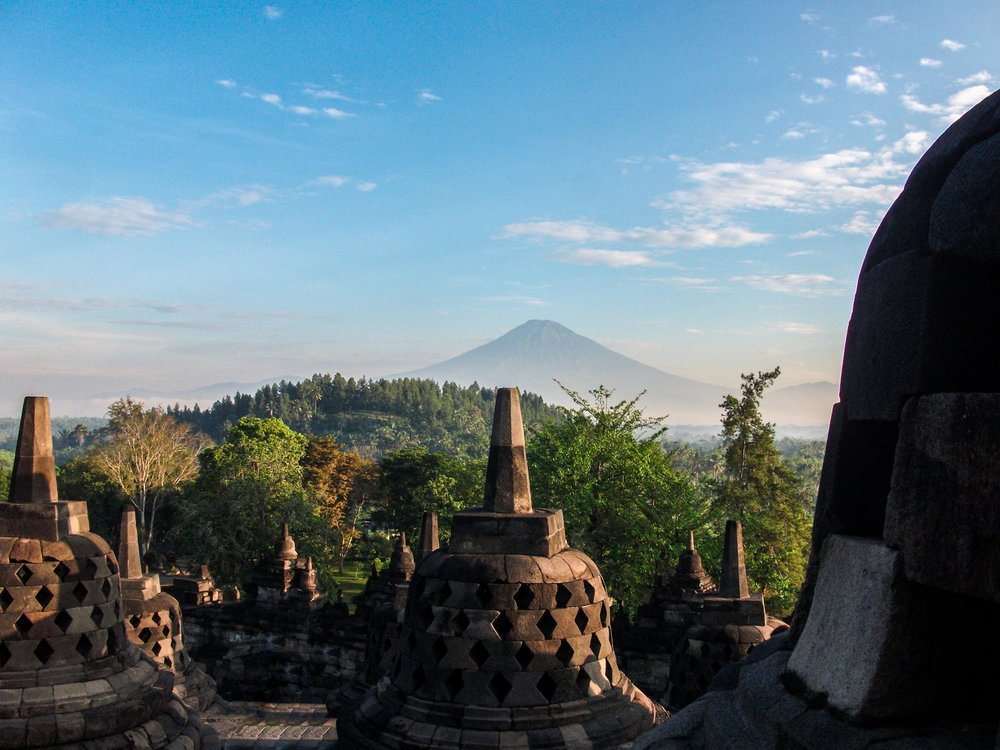 Borobudur, Java. 2013