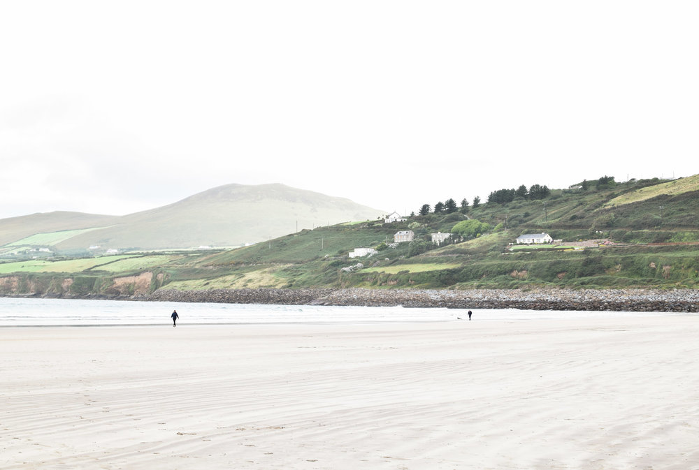 Inch Beach, County Kerry, Ireland. Part of the Dingle Peninsula, near Killarney.