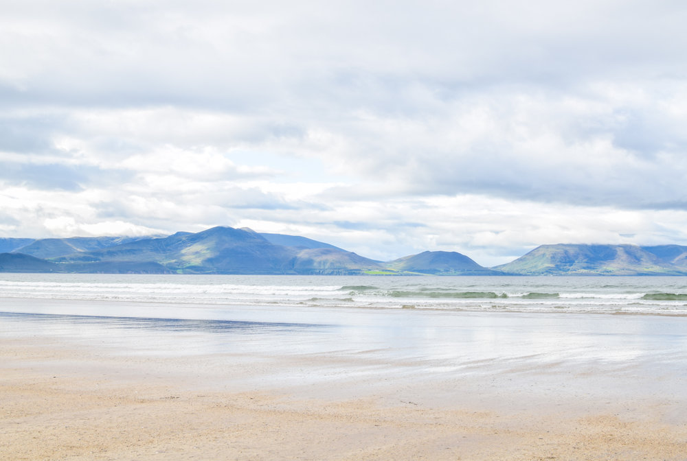 Inch Beach, County Kerry, Ireland. A stop on Slea Head Drive on the Dignle Peninsula.