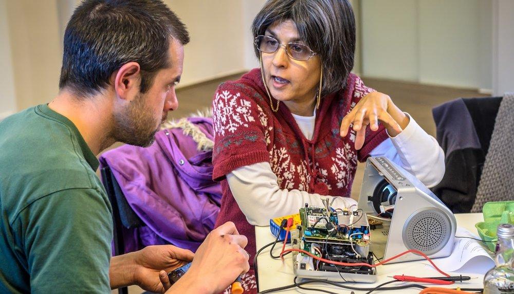 Learn skills through events or volunteering – DIY, sewing, repair, storytelling...