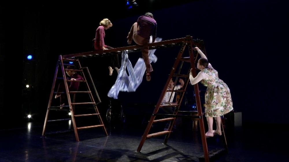Arts Base ladders dance rig