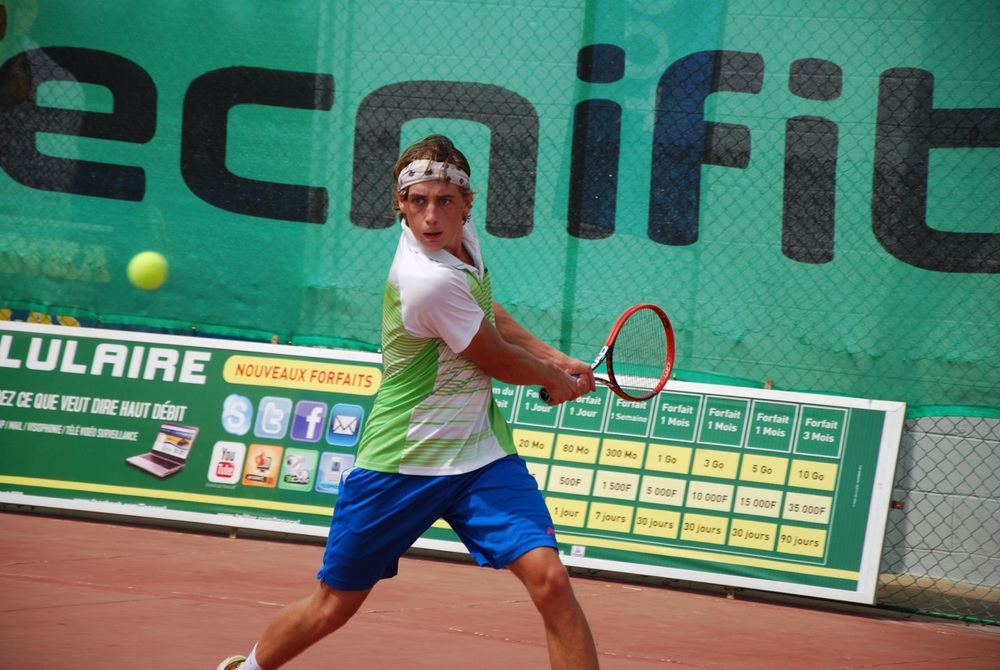 Lucas Renard   ( ATP player, ranked 672 in singles)