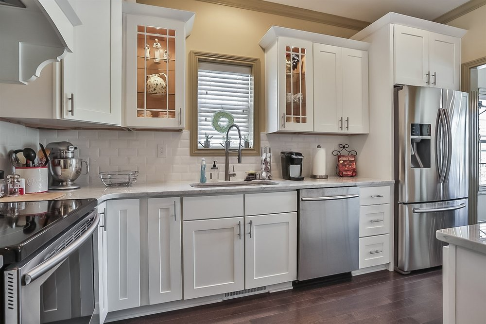 Elegant Kitchen located a recently SOLD Patio Home in Pheasant Glen subdivision.