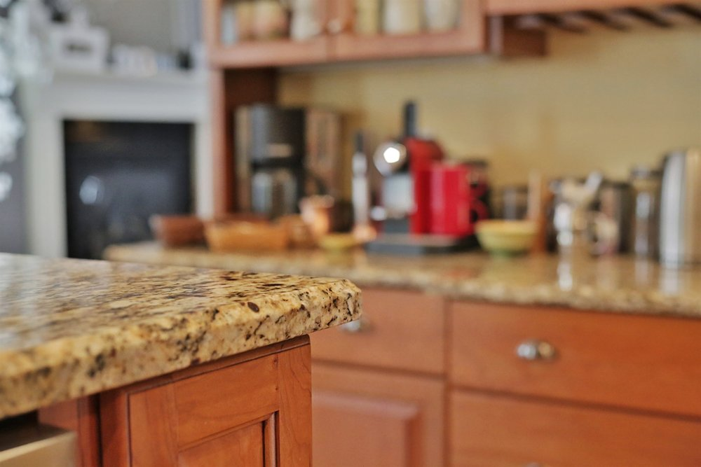 Granite Countertop Picture at Home in Park Place subdivision