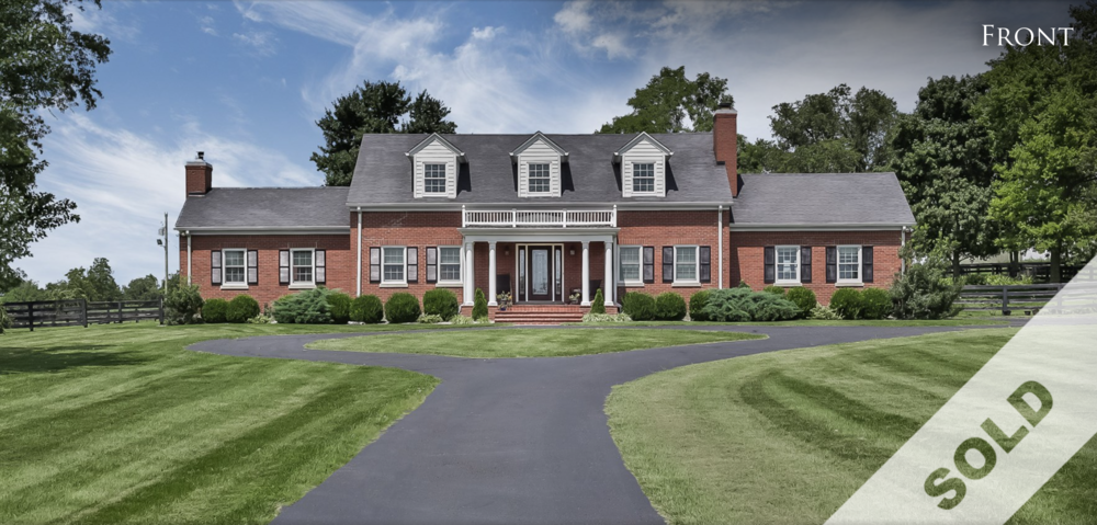 JUST SOLD by Zach Tipton! Remarkable Home on 13 Scenic Acres ~ List Price:  $575,000 825 ANTIOCH RD, SHELBYVILLE, KY 40065