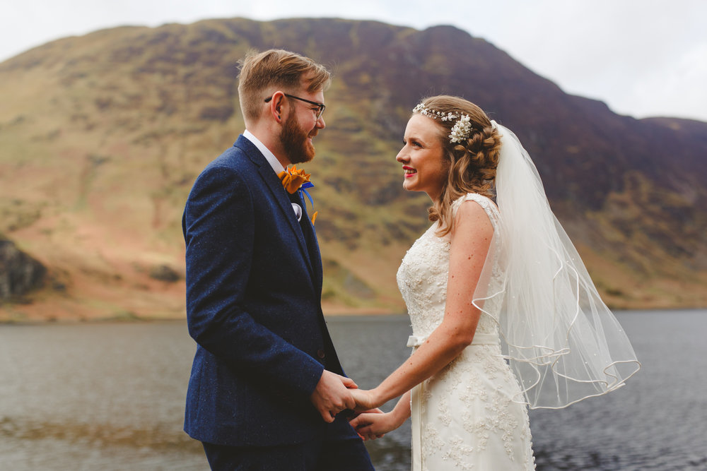 lake district wedding photo