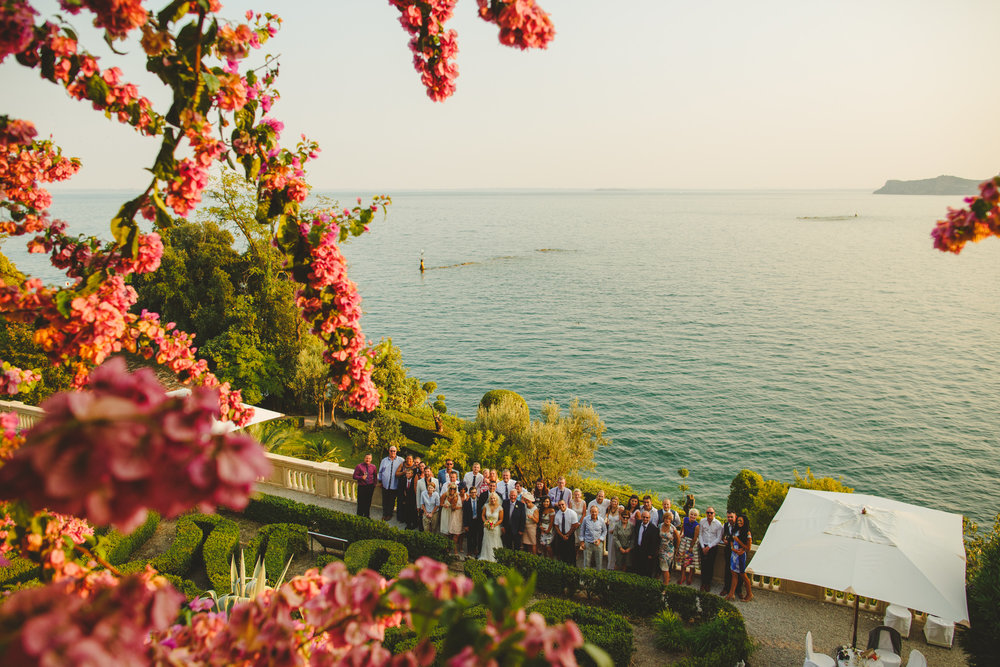 lake garda destination wedding photo