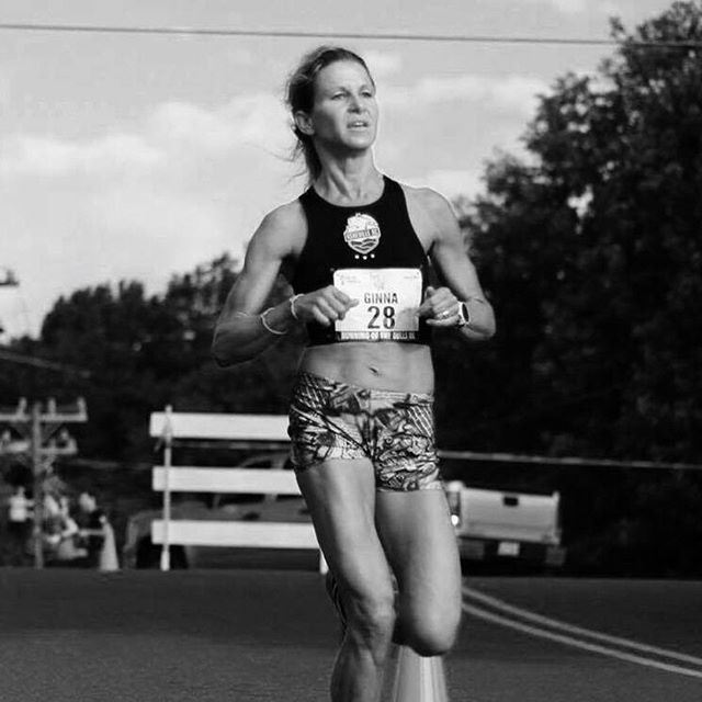 Second place for Ginna Reid at the #charlestonhalfmarathon  Onward to the @run_charlotte Winter Classic 8k and a full schedule of spring races.  #fearthepony // #devotetothegoat