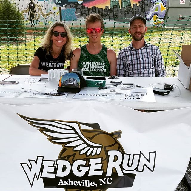 Swing by to @summitcoffeeasheville to hang out and pick up your race bib!  We will be here till 8pm.  #fearthepony #devotetothegoat #wedgerun10k #828isgreat