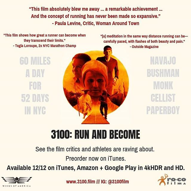 "Join us April 18th at 7:30 pm after the normal wedge run for a film screening at the wedge foundation cloud room.  We will be watching ""3100: Run and Become"" a film that explores the spiritual side of running.  Watch the trailer here https://www.youtube.com/watch?v=t1e399N_wB0&t=1s  We are partnering with the Literacy Council of Buncombe County for the wedge run 10k, so entry to the film screening is a $10 donation or a book to donate."