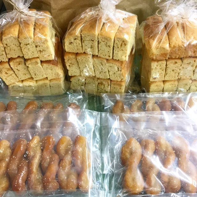 Koeksisters & Beskuit back in stock! 👌😁👍 🇿🇦 We are also taking order for Melktert (in store only) 😁