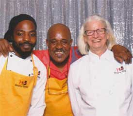 On the left is Stephon, Omar in the center and me on the right. We posed in the photo booth while working the Union Kitchen Open Tasting on July 16th.