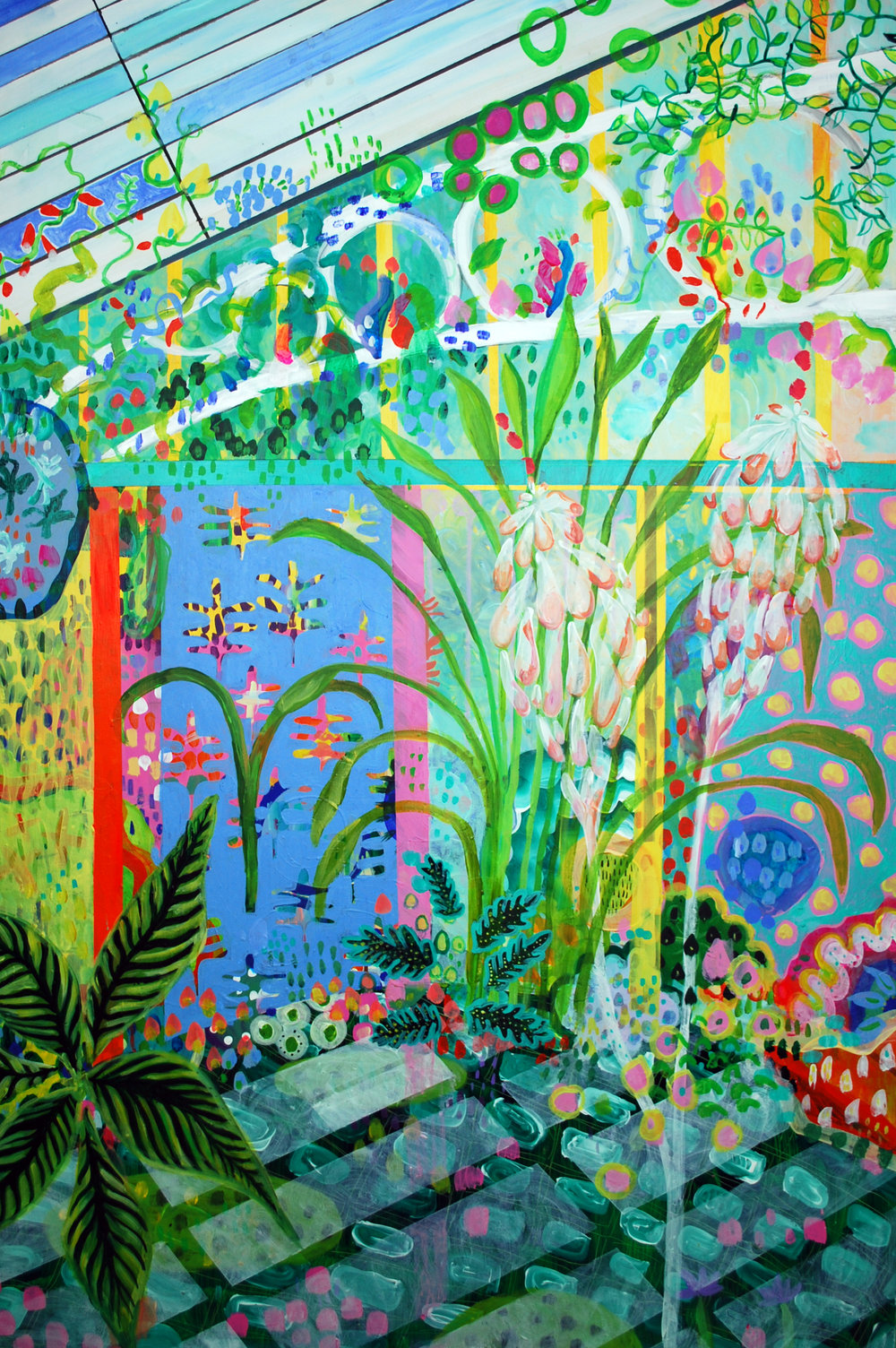 'Herbaceous Hot House 1' Grace Green .jpg