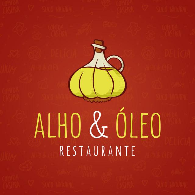 ALHO & ÓLEO - IDENTIDADE VISUAL