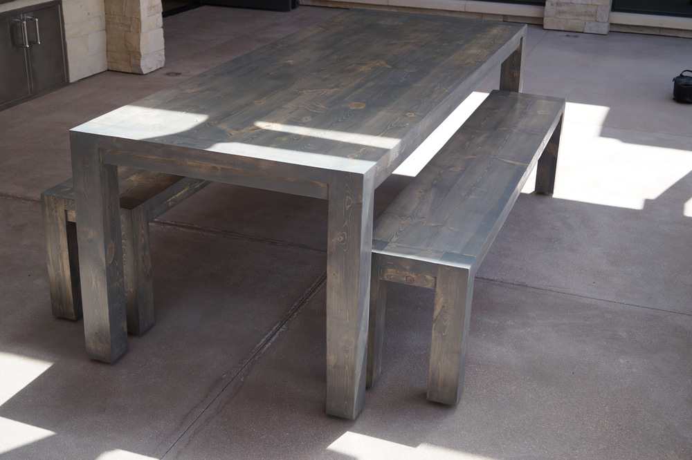 Chatfield  Click the image to enter the Shop and view the different sizes and stain colors in the Chatfield table