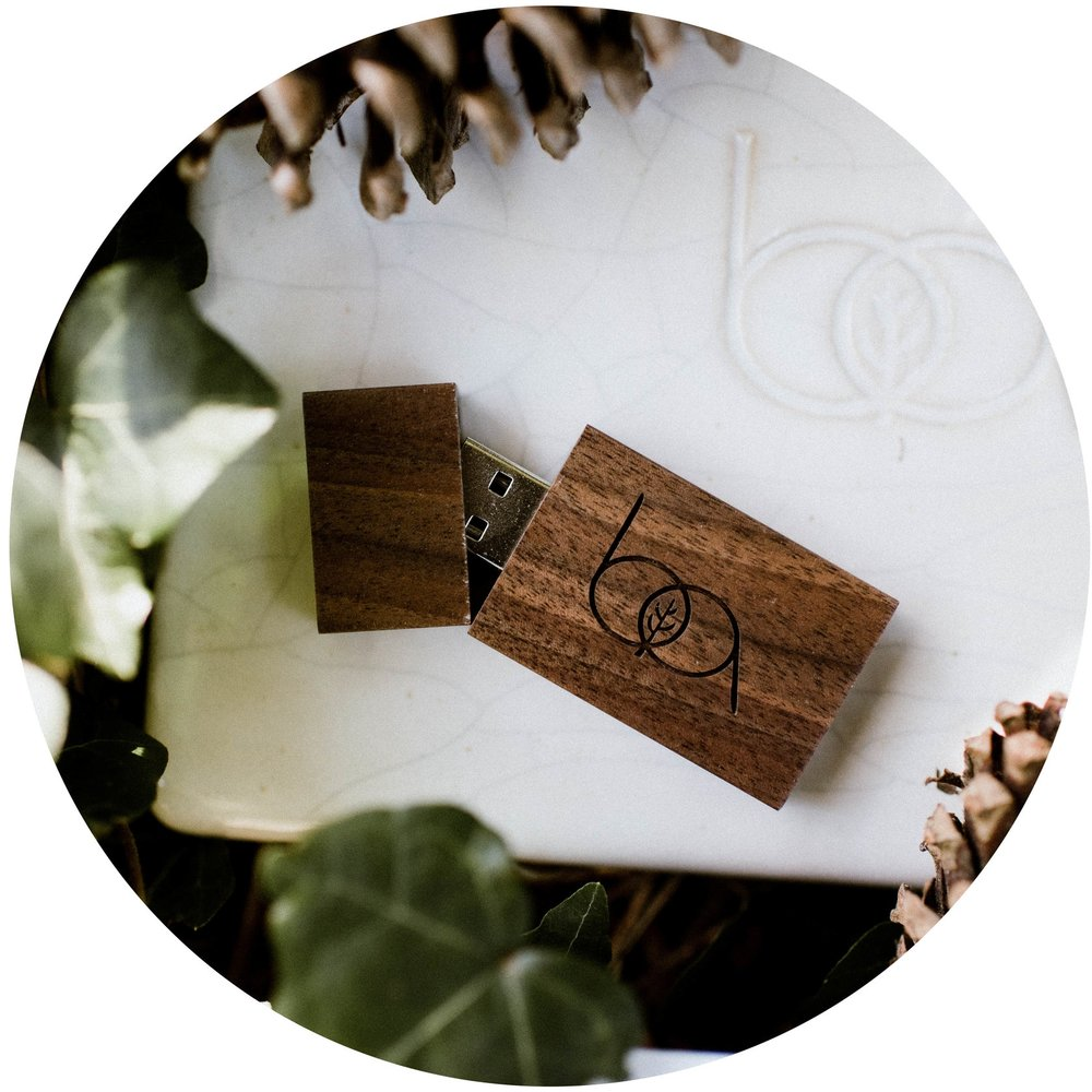 Solid Walnut Flash Drives I don't mess around! Your photo files are stored in solid hardwood.