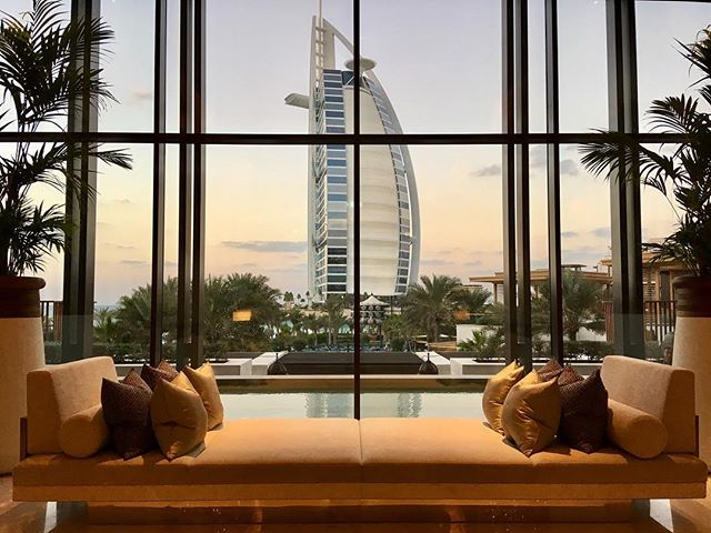 There is a reason this is most instagrammed hotel (apparently). What a view! @jumeirahalnaseem