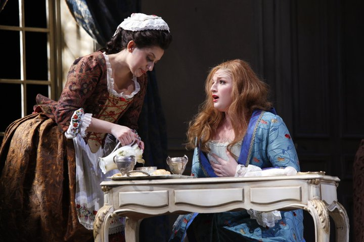 La Contessa,  Le nozze di Figaro,  with Megan Pachecano as Susanna.