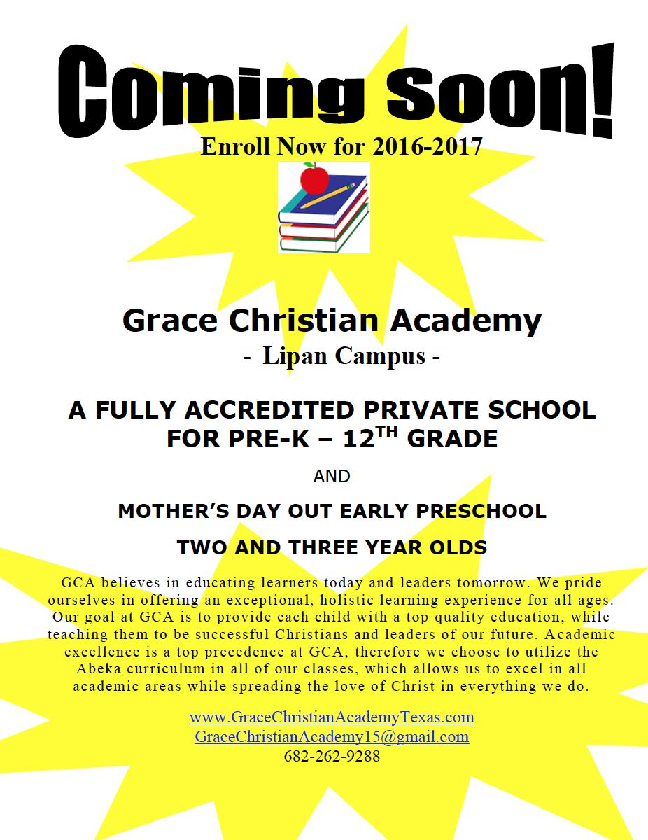 Grace Christian Academy Lipan