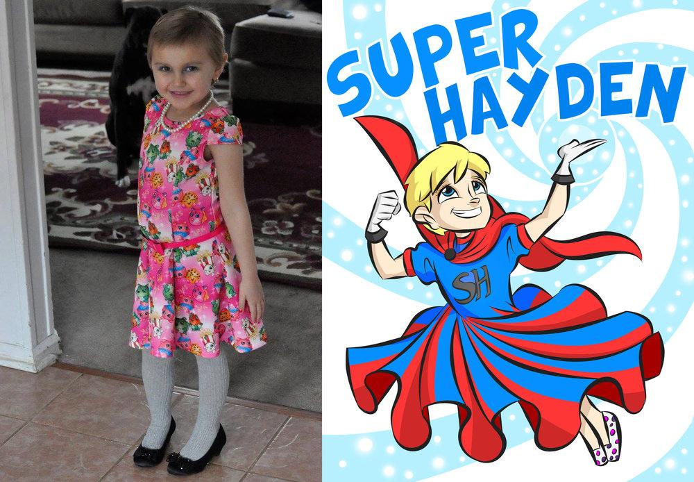 Hayden (Super Hayden)
