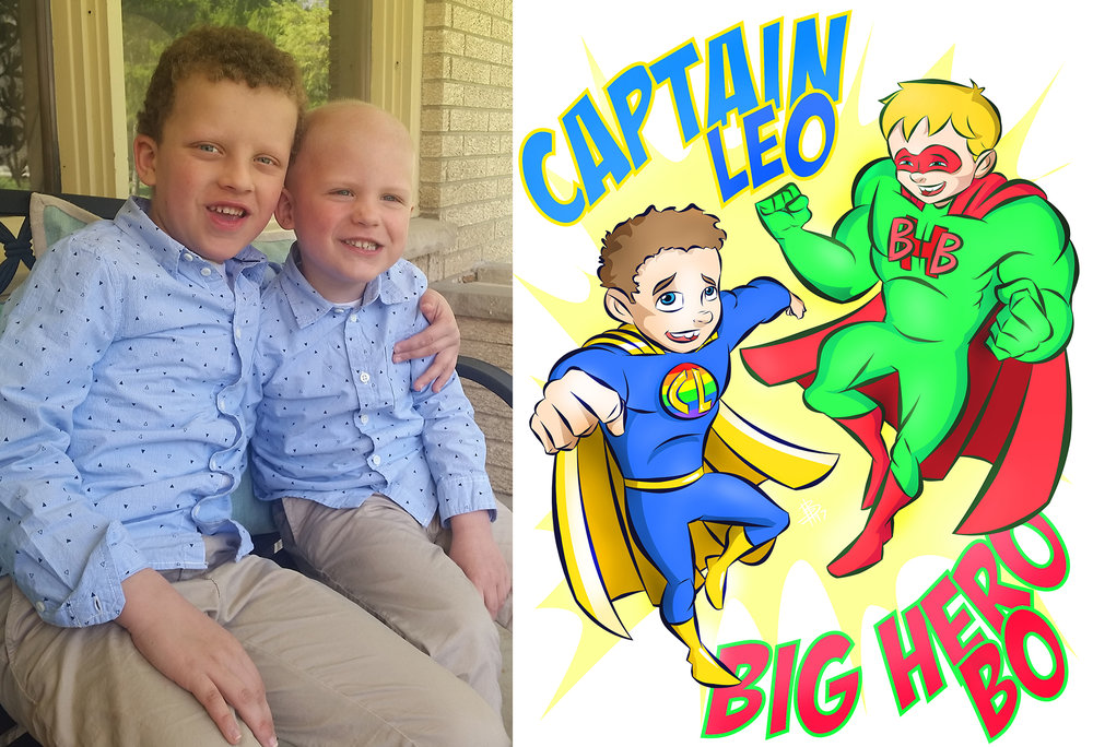 Leo & Bo (Captain Leo and Big Hero Bo)