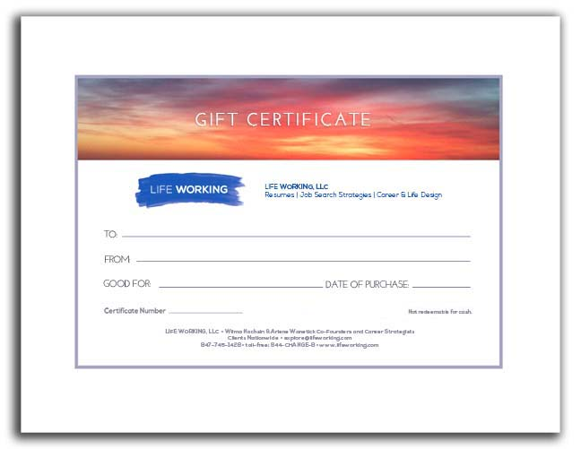 Gift Certificate Small