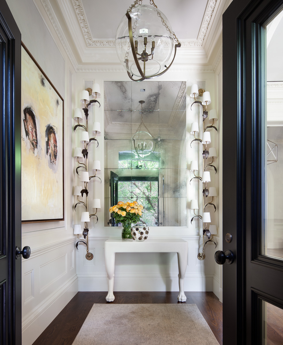 Foyer Ideas For Townhouse : West village townhouse — shawn henderson