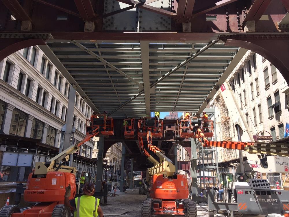 Final beam install