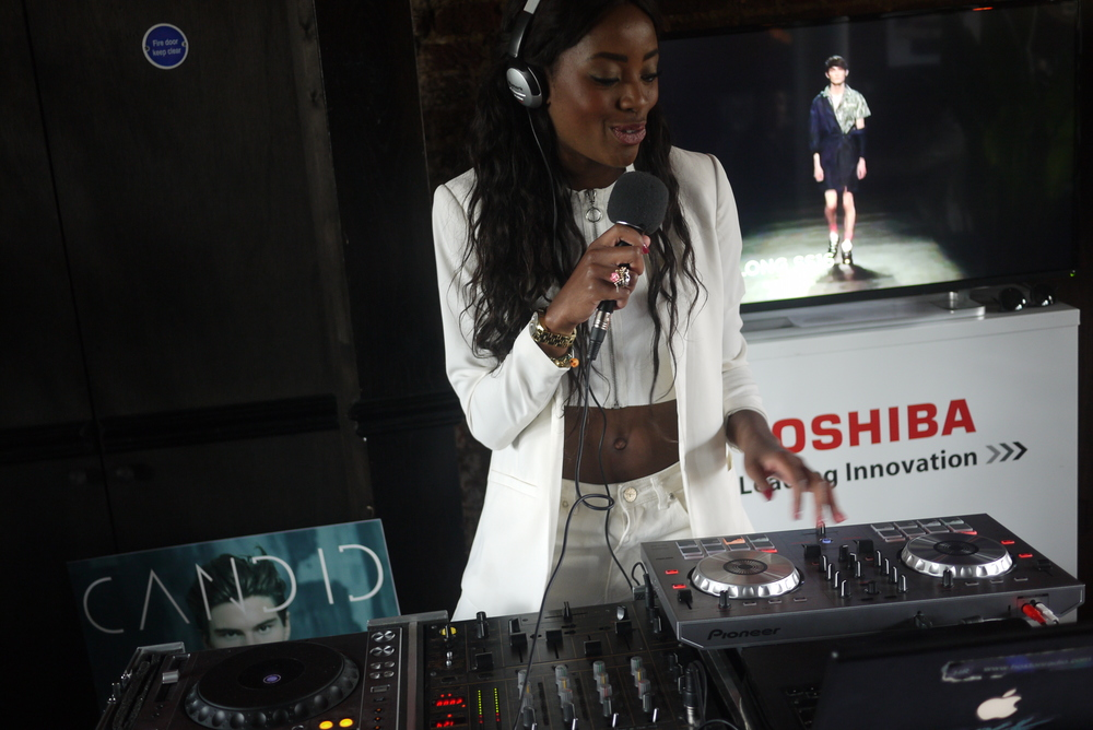 Presenting Live for Hoxton Radio AJ Odudu