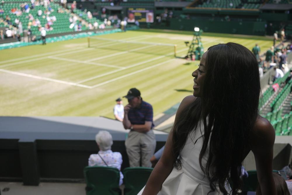Wimbledon 2015 AJ Odudu