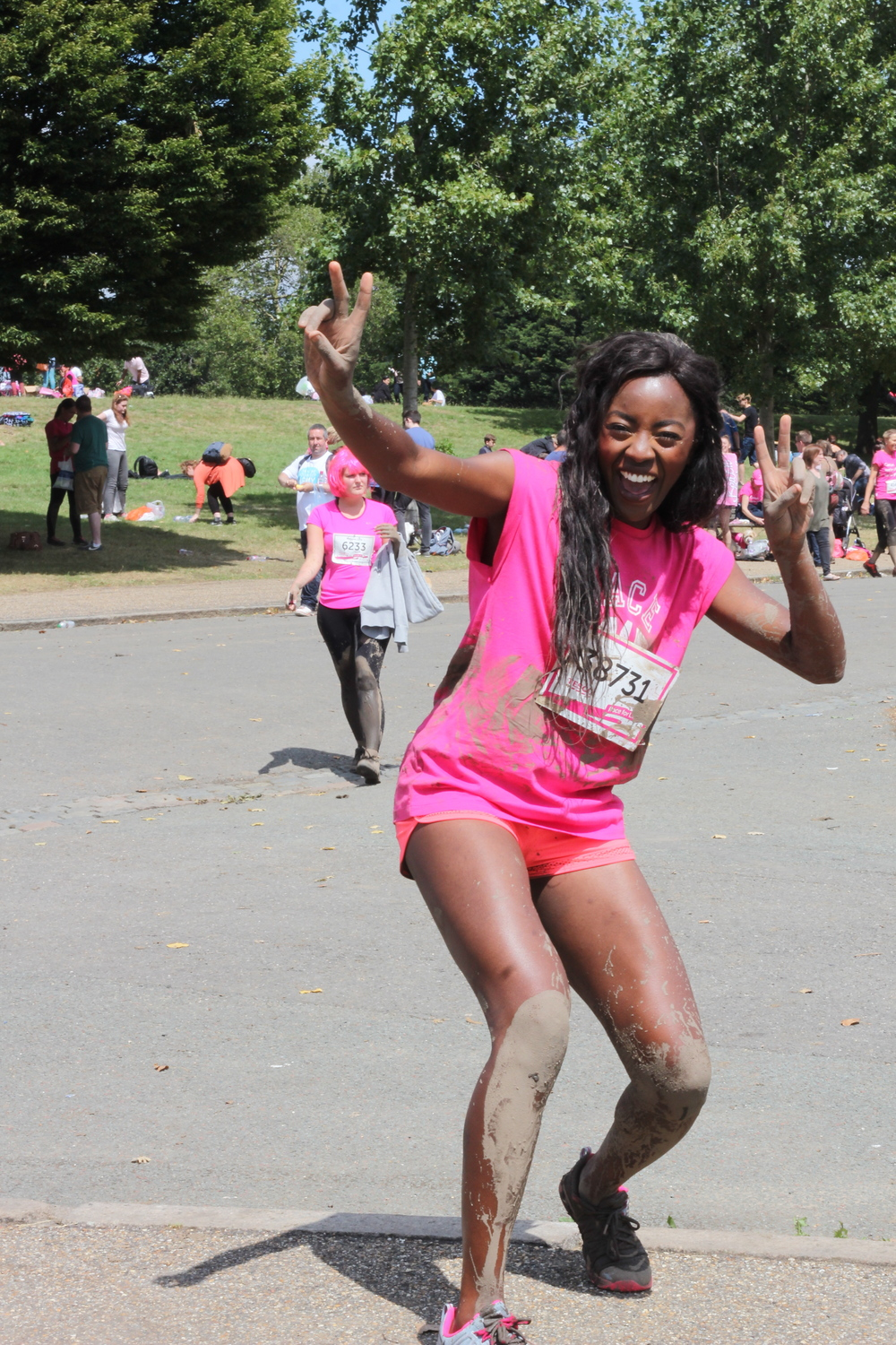 Race For Life London AJ Odudu