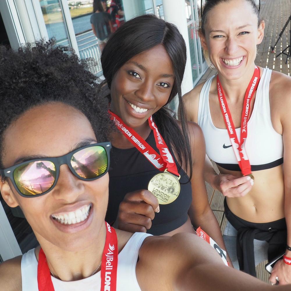 AJ Odudu, AdrienneTMM & Hayley Jane Fitness