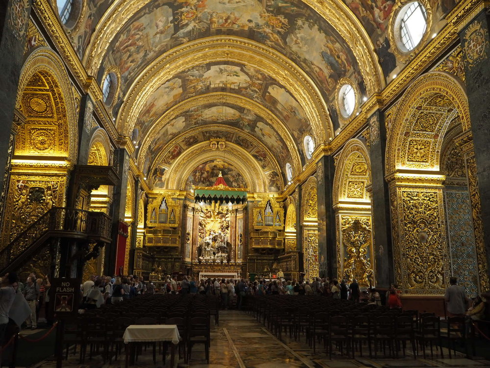 St John's Co-Cathedral in Vellatta, Malta