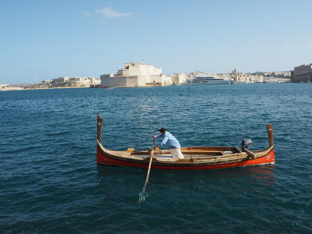 Luzzu Boat, Malta
