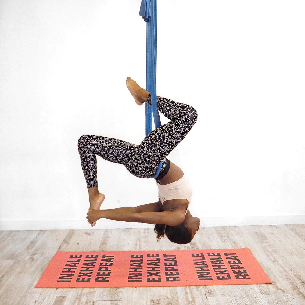 Aerial Yoga Pose