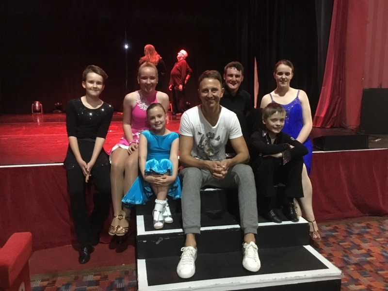 Gottadance dancers in Ian Waite and Camilla Dallerups show Up Close and Personal September 2017