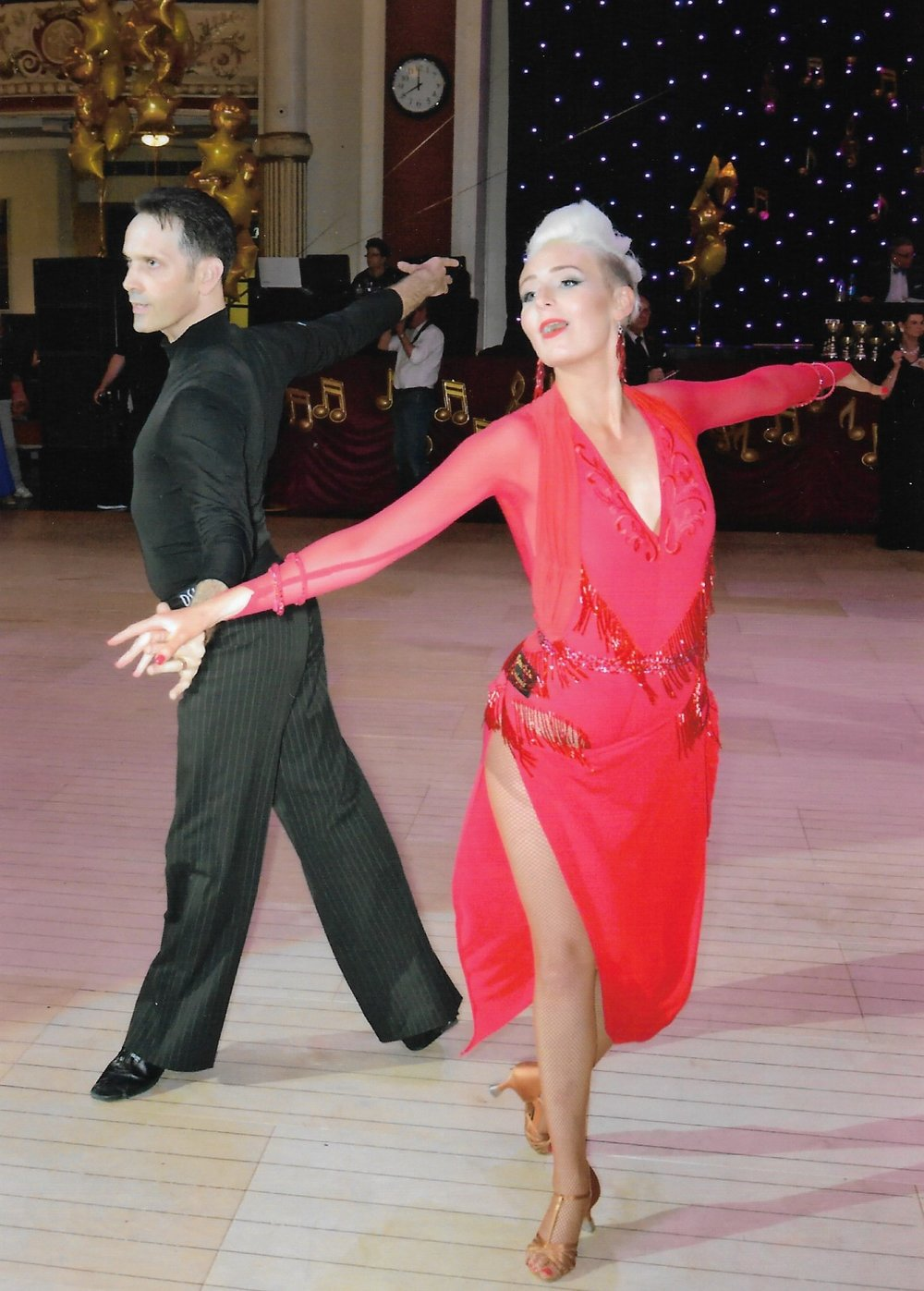 Rozz Strachan. 2nd in Latin American 4th in Ballroom Grand Fiinals 2018