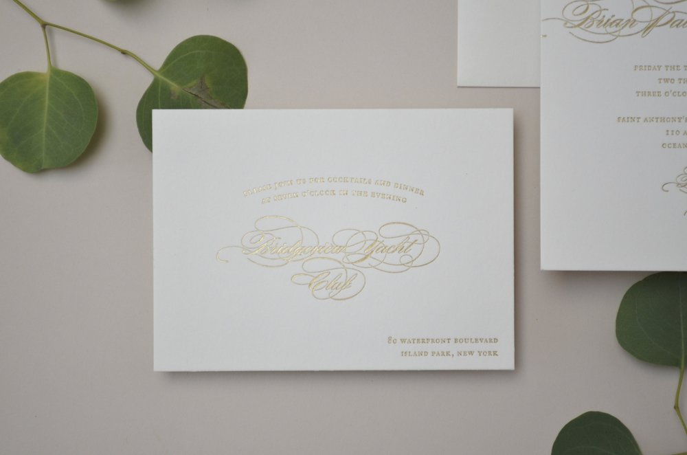 The AV Design Factory - Prosecco Wedding Invitation Suite