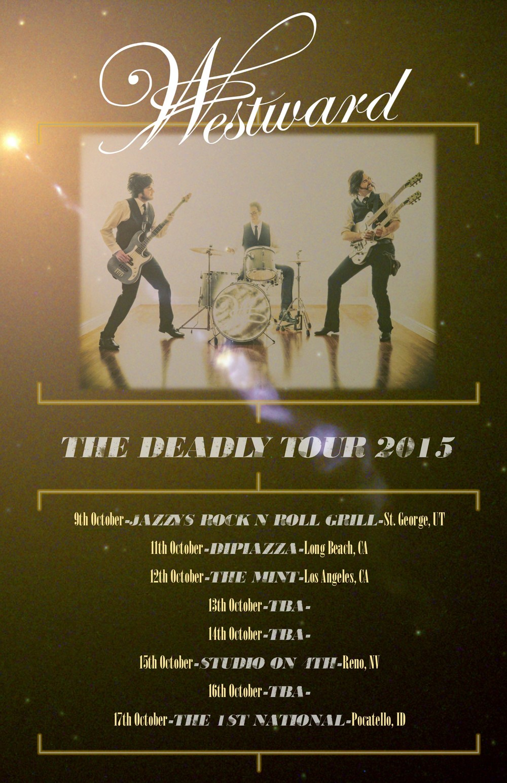 2015 Deadly Tour Poster