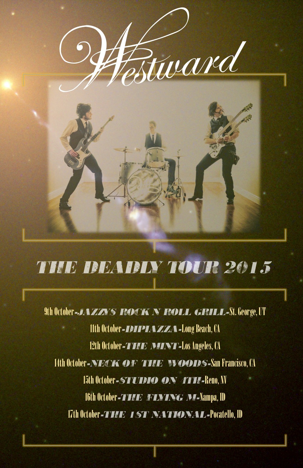 The Deadly Tour Poster 2015