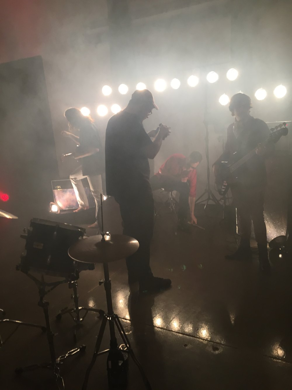 """Westward music video shoot - 2017"""