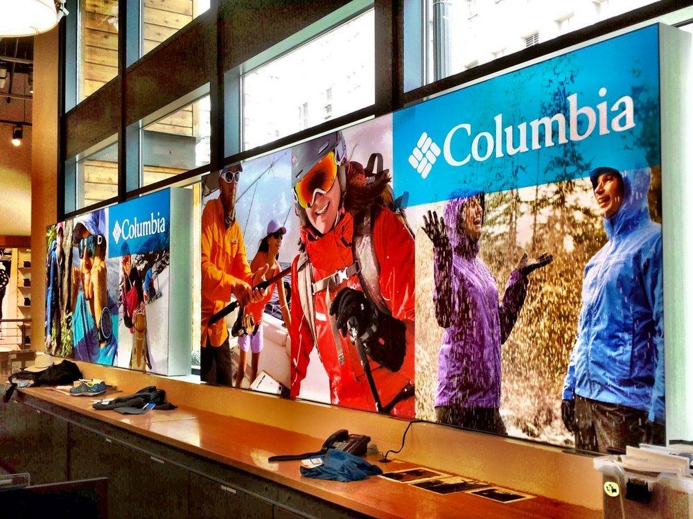 Columbia Matrix Frame SEG Window Display