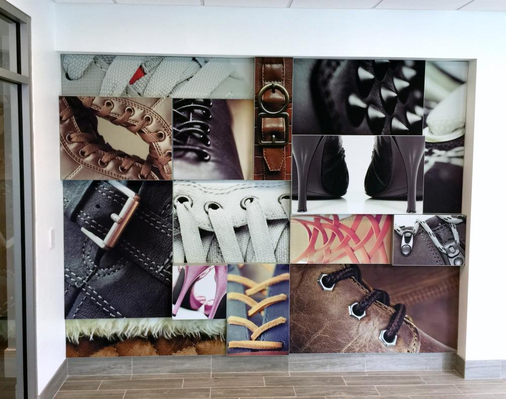 Matrix Frame - Tension Fabric Wall-Mounted Collage