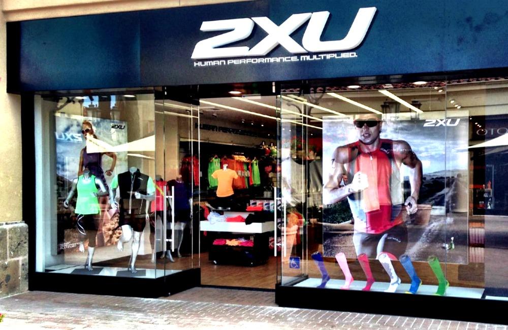 2XU Matrix Frame SEG Window Display