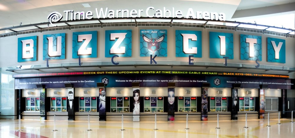 Buzz City Matrix Frame Tension Fabric Signs