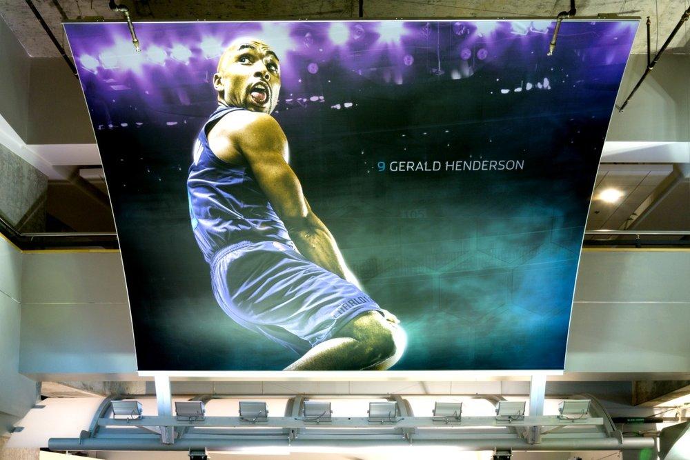Gerald Henderson - Matrix Frame in the Spectrum Center